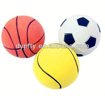 Mini pu ball toys for dogs