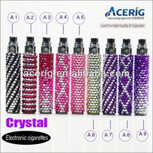 shinning Crystal diamond EGO battery