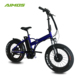 "20"" foldable fat electric bike with double motor 48V 750W"