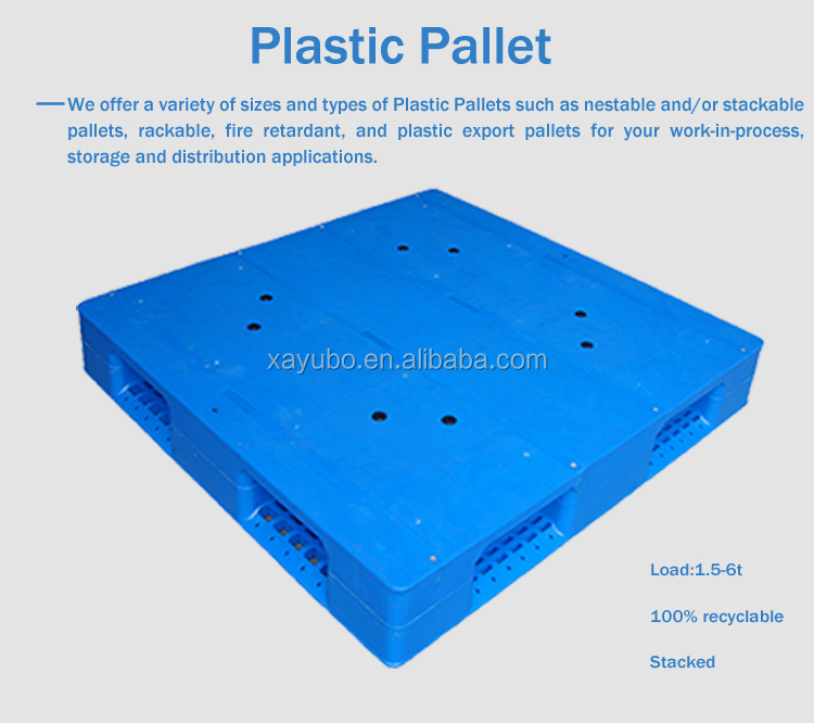 low price big load capacity eco racking plastic pallets
