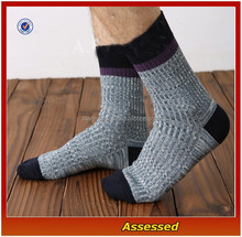 2015 Custom 100% Cotton Multicolor Thick Winter Socks For Men/Men Dress Socks/Socks Machine Price---AMY150292