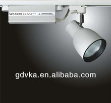 metal halide track ceiling spot lights,CDM-T/G12,35w/70w,China Guangdong VKA,AC220V~50Hz,Aluminum,beam angle:24 degree