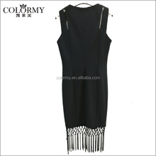 A Forever Fairness Patterns Tassels New Style Female Fat Women Lace Dress