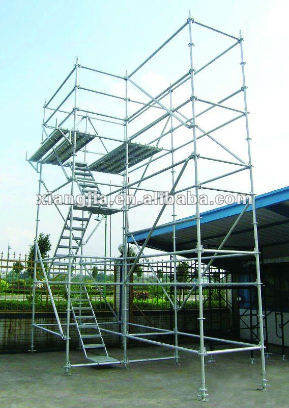 Hot sell Ring lock using painters 8 feet high scaffolding