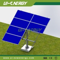 2016 high quality solar mounting system solar panel pole mounting