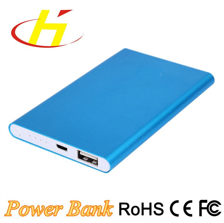 4000mAh Smart Phone charger Factory Wholesale Thin Portable Power Bank
