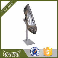 Hot selling metal high heels shoes display for shoes fashion store
