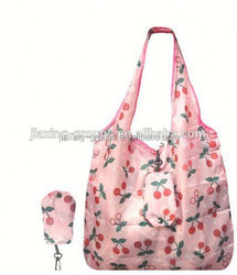 Popular foldable shopping bag wholesale with handle,easy carry and use