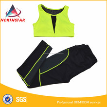 OEM ODM factory Women Fashion Fitness Leggings ,WorkOut Clothes Custom Made Sports Gym wear.