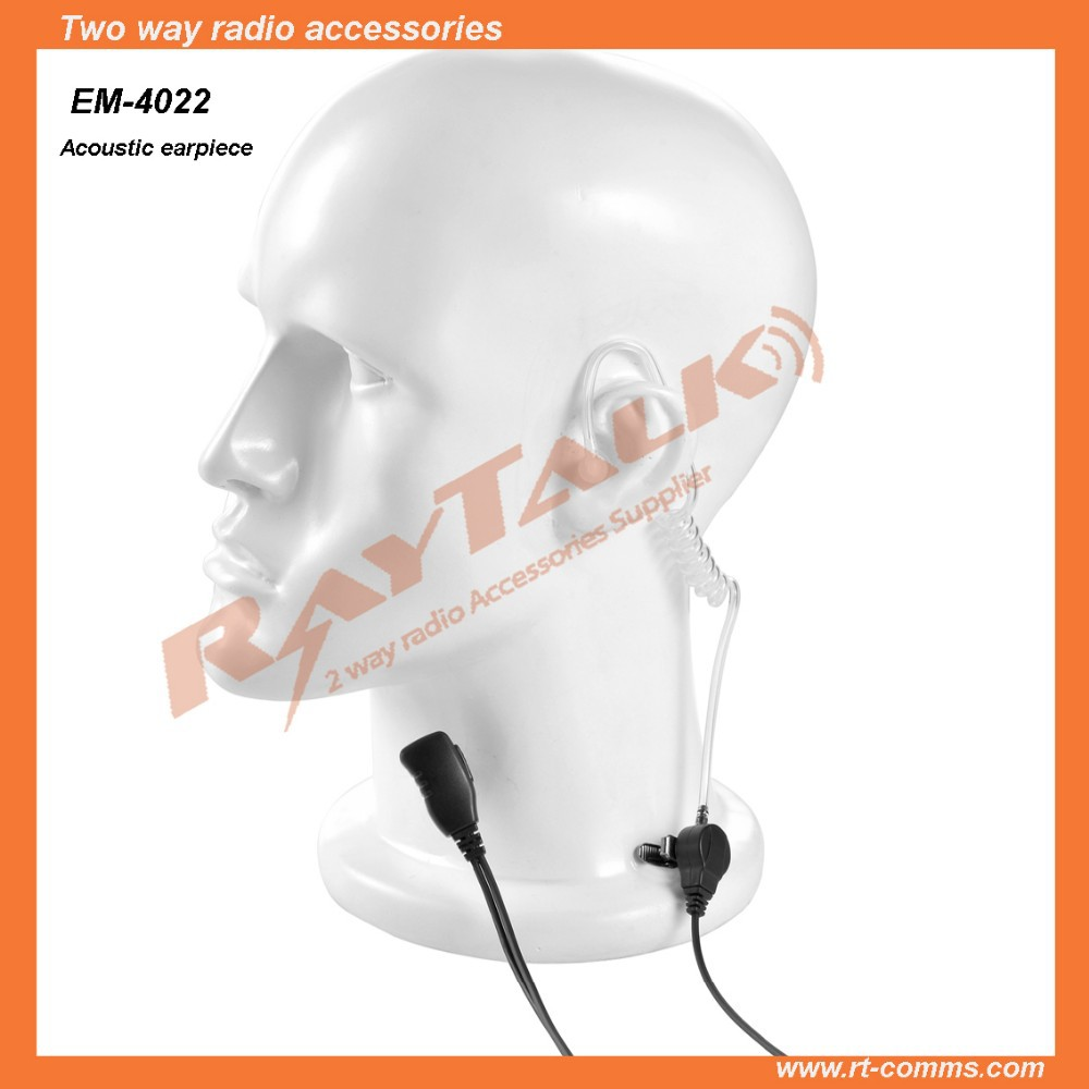 Two way radio Acoustic earpiece for Sepura STP9000