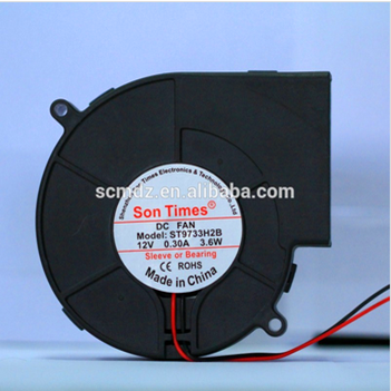 97*97*33mm sleeve and ball bearing dc axial blower fan 12v 24v
