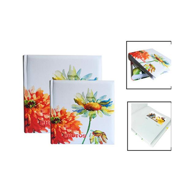 floral design 200 photos lamination printed paper sheets foto album