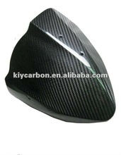 Dry carbon fiber motorcycle windshield for Kawasaki