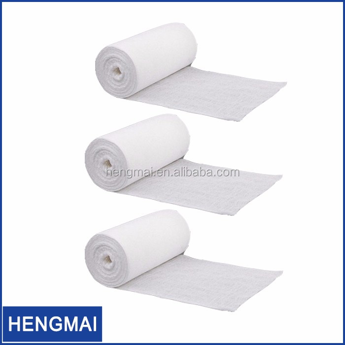 Surgical Absorbent Cotton Gauze Roll Medical Dressing Jumbo Gauze Roll