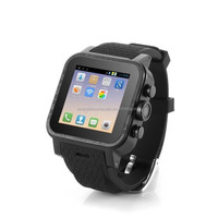Dual Sim Card Dual standby Cell phone watch,waterproof smart watch android phone