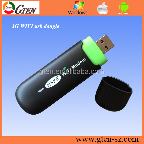 RNDIS 3G all-purpose unlock huawei e355 usb 3g wifi modem support 21Mbps