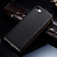 Mobile phone leather case for Iphone 5 5S , china manufacturer for Iphone leather case , luxury flip design for iphone5 case