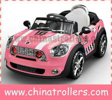 Mini cooper Hot sell kids' ride on cars with the parent control remote ride on car big rc cars