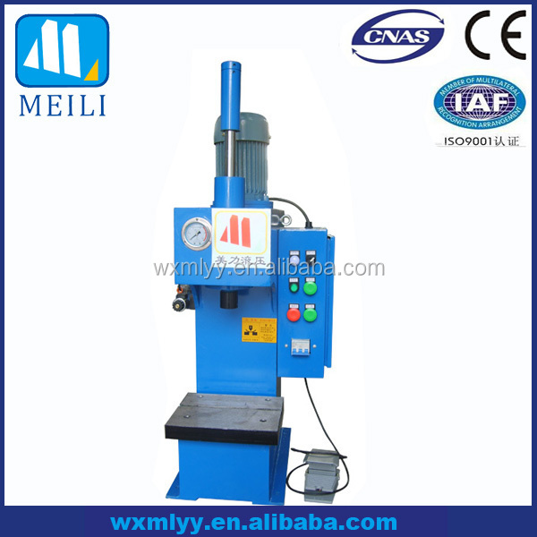 YT41-1T Single-Column C-frame Small Hydraulic Press Machine