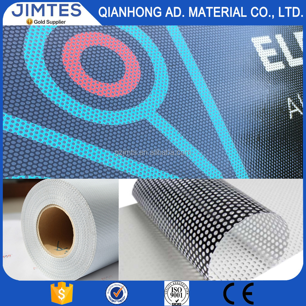 JIMITES one way vision/perforated vinyl/window film