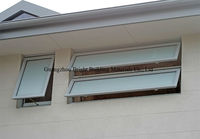 Awning Window with AS/NZS2208 Double Glazing Glass