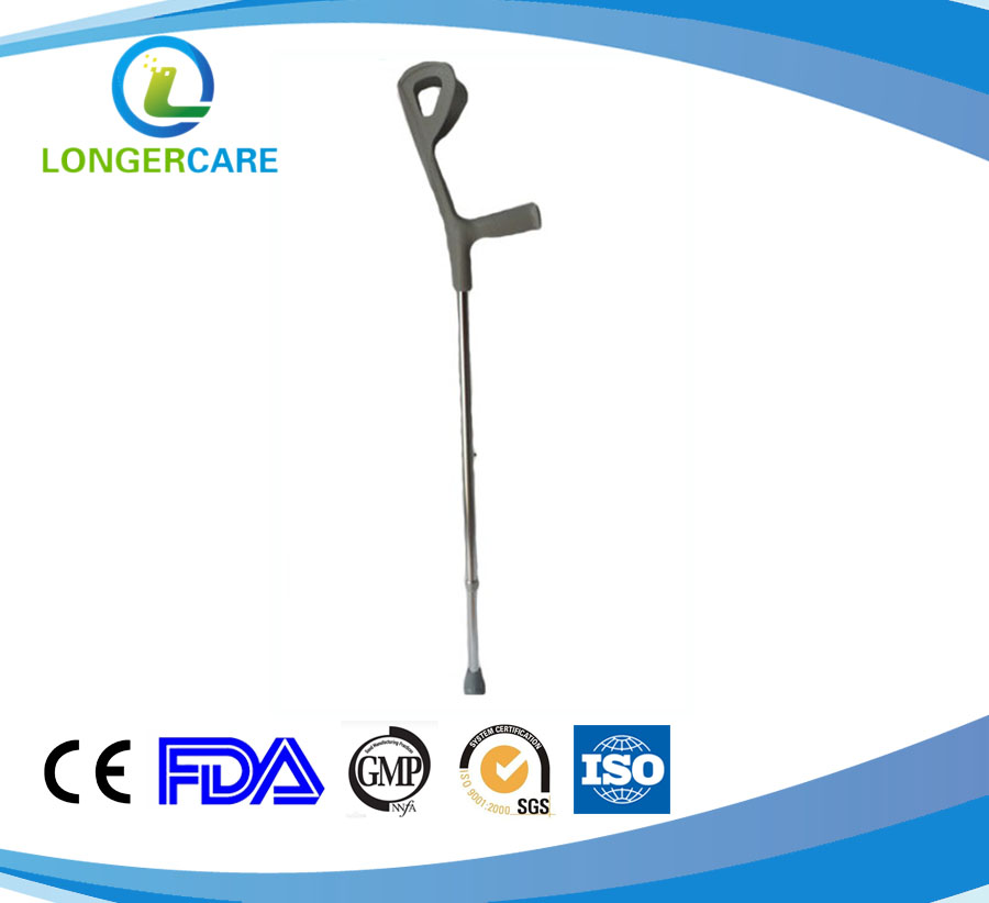 LG-3102 walking elbow crutch stainless steel Emily
