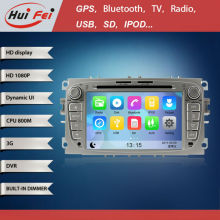 7inch Car DVD GPS for FORD Focu2 with Turkish Language HD 1080P 800MHZ CPU built-in 3G WIFI DVB-T Radio Video car Audio