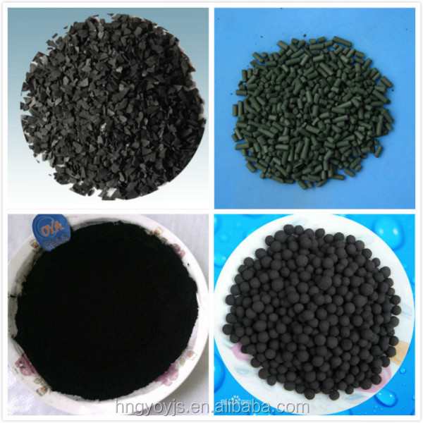 Supply wood based activated carbon for waste oil recycling with high adsorption
