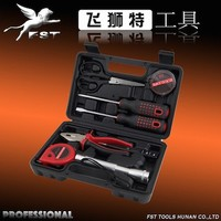 9PCS HARDWARE HOUSEHOLD HAND TOOL SET OF SCREW DRIVER/PLIERS/HAMMER