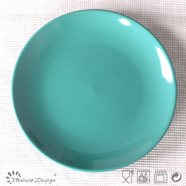 ceramic crockery items dinner plates solid color