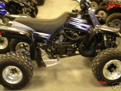 2002 Yamaha Raptor 660 4 Wheeler Four Wheeler Atv Used