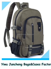 Hot Sale Ebay Amazon Men Fashion Durable Fashion Outdoor Canvas Travel Backpack Wholesale