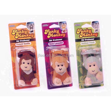 Funky Monkey Car Air Freshener,Auto Hanging Perfume
