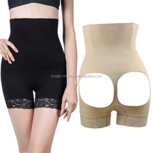 Customized Label Elastic Belly Trimmer High Waist Slim Sexy Panties for Butts Up