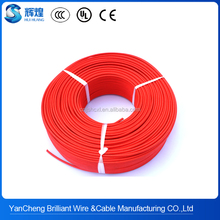 High temperature fiberglass braid mica tape nickel core wire