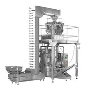 High Speed Excellent Automatic Multihead Weigher And Vertical Packing Machine For Snacks Packing