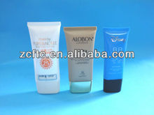 flat flexible cosmetic tube,Plastic cosmetic tube 30ml