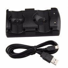 USB Dual Charger Charging Dock Station for Sony Playstation 3 PS3 Move Controller Wireless Controllers Joystick Charger