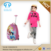 ABS kids suitcase /Princess kids trolley school bag/ kids luggage