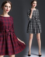 Newest style promotional casual women cut label dresses