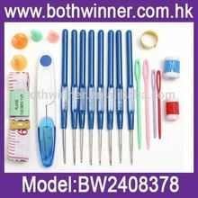 ABS crochet hooks set ,MW033 decorative crochet hooks