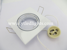 LED ceiling light fixture gu10 white color square ceiling light embedded mounted ceiling high quality 3 years warranty
