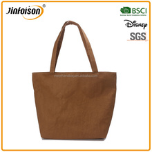 Hot selling recycle washable Craft Paper Shopping tote Bag