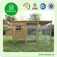 Chicken Coop with Large Run (BV SGS TUV FSC)