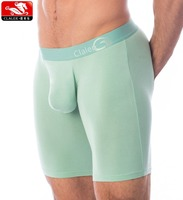 "Pure Color Men's Boxer Brief 2 Pack Performance Underwear 9"" Compression Shorts Underwear Shops"