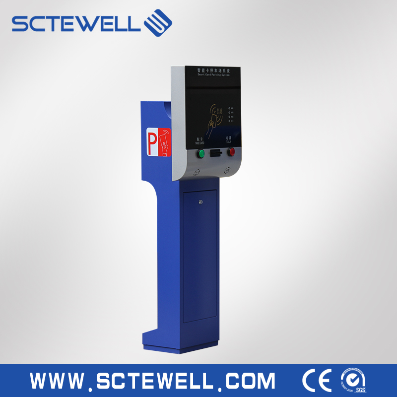 Hot selling geautomatiseerde parkeer ticket dispenser machine systeem