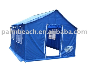 12m2 Disaster relief tent refugee tent, family tent
