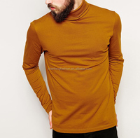 CHEFON Roll neck and long sleeves t shirt mens fashion uk