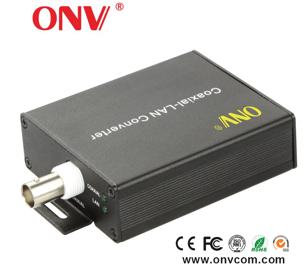 China Eoc Ip To Coaxial Video Converter Digital Vedio Transceiver BNC 485 Coaxial to Rj45