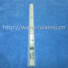Transparent PC tube with small holes use for medical